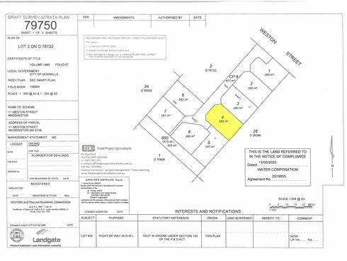 Lot 4/11 Weston Street Maddington, WA 6109