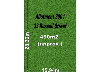 Allotment  300/33 Russell Street Rosewater , SA, 5013