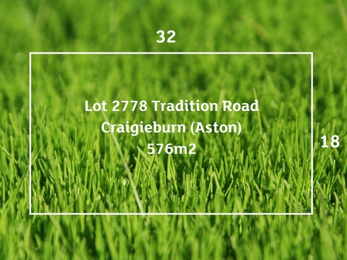 Lot 2778/ Tradition Road Craigieburn, VIC 3064