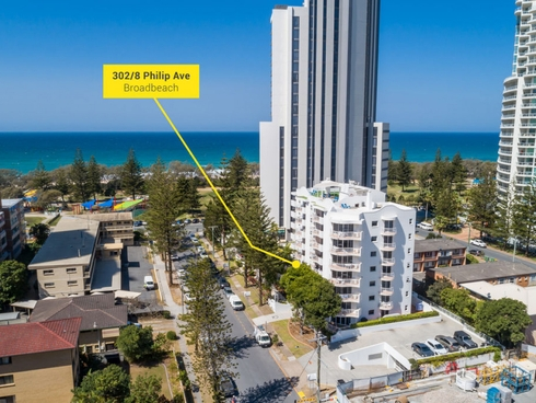 302/8 Philip Avenue Broadbeach, QLD 4218