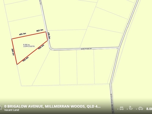 Lot 22/ Brigalow Avenue Millmerran Woods, QLD 4357