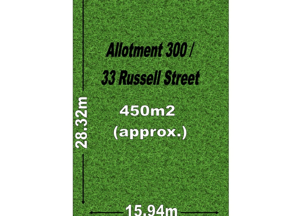 Allotment  300/33 Russell Street Rosewater, SA 5013